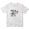 WildN'Free Childrens Tee | TinyHumanClothing.com