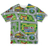 Toy Car Play Rug Childrens Tee | TinyHumanClothing.com