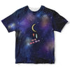Universe and Moon Childrens Tee | TinyHumanClothing.com