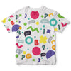Wow Colors Childrens Tee | TinyHumanClothing.com