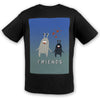 Monster Friends Cotton Tee | TinyHumanClothing.com