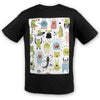 Monsters Cotton Tee | TinyHumanClothing.com
