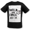 WildN'Free Cotton Tee | TinyHumanClothing.com
