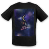 Universe and Moon Cotton Tee | TinyHumanClothing.com