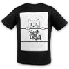 Kitty Love Cotton Tee | TinyHumanClothing.com
