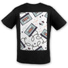 Old School Cassette Cool Cotton Tee | TinyHumanClothing.com