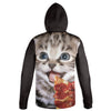 Pizza Kitty Hoodie | TinyHumanClothing.com