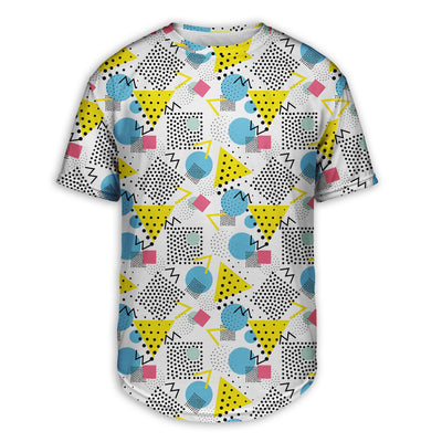 Graph Paper Notebook Scoop Tee | TinyHumanClothing.com