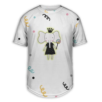 Princess Elephant Scoop Tee | TinyHumanClothing.com