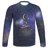 Universe and Moon Sweatshirt | TinyHumanClothing.com