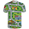 Toy Car Play Rug Tee | TinyHumanClothing.com