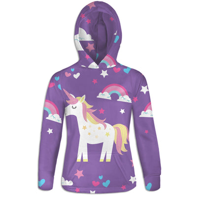 I love Unicorns Womens Hoodie | TinyHumanClothing.com