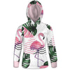 Cute Flamingos Womens Hoodie | TinyHumanClothing.com