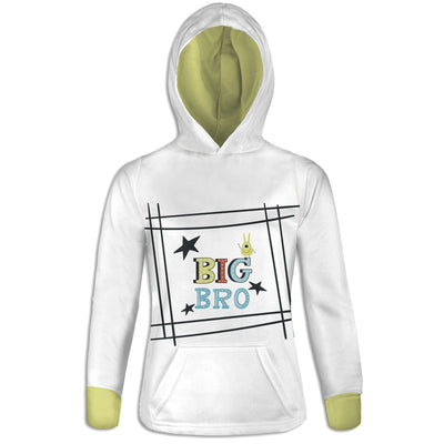 Big Brother Womens Hoodie | TinyHumanClothing.com