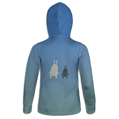 Monster Friends Womens Hoodie | TinyHumanClothing.com