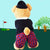 'Sorry you're under par - get well soon' golfing teddy bear (boy)