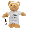 'Many Happy Returns' Tennis Teddy Bear - Golf Gifts UK - Golf wrapped up