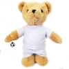 Personalised Birthday Football Bear (white)