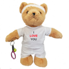 'I Love You' Tennis Teddy Bear