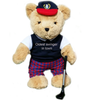 """Oldest Swinger in Town'' Golfing Teddy Bear (boy)"