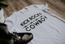 Load image into Gallery viewer, Kick Rocks Cowboy Tee