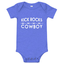 Load image into Gallery viewer, Kick Rocks Cowboy Baby Jumper