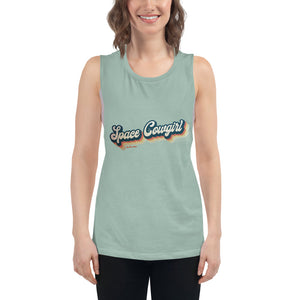 Space Cowgirl Muscle Tank