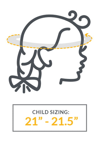 "Child Sizing - 21"" - 21.5"""