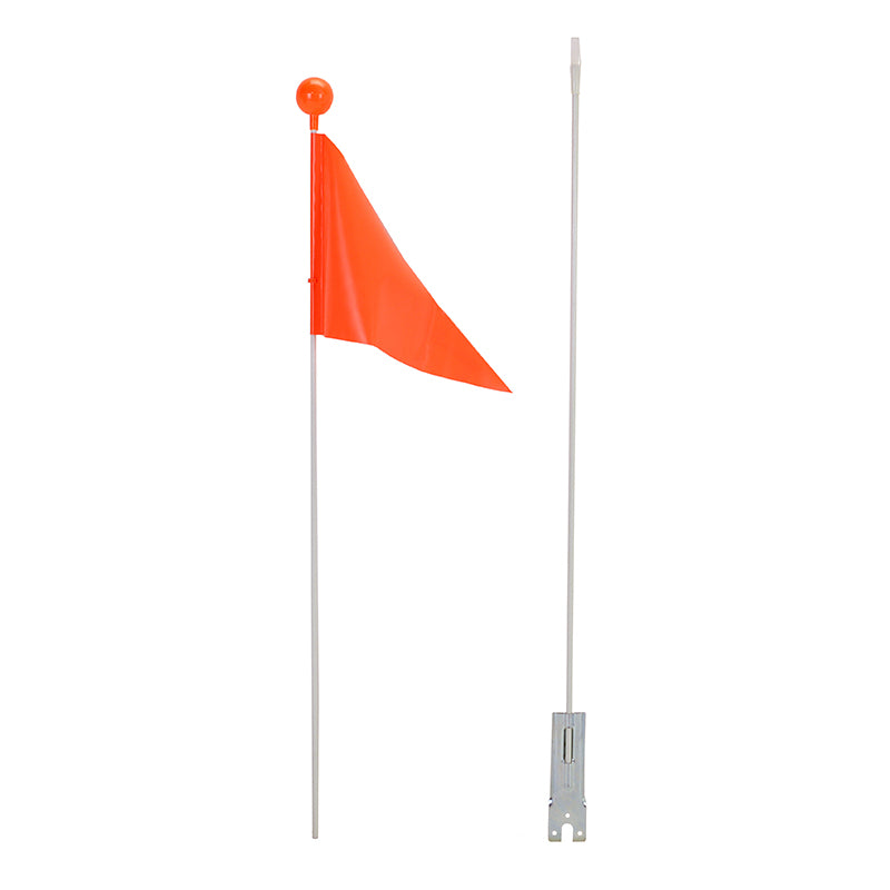 Capstone Sports - Orange Safety Flag Disassembled in 2 Pieces