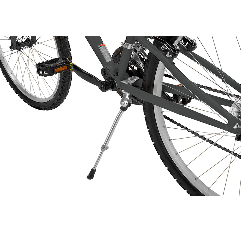 Capstone Sports - Adjustable Kickstand installed on a bicycle