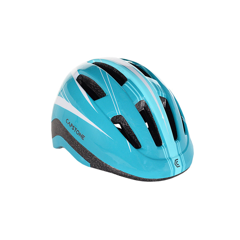 Capstone Sports - Angled View - Adult Ladies Teal Helmet