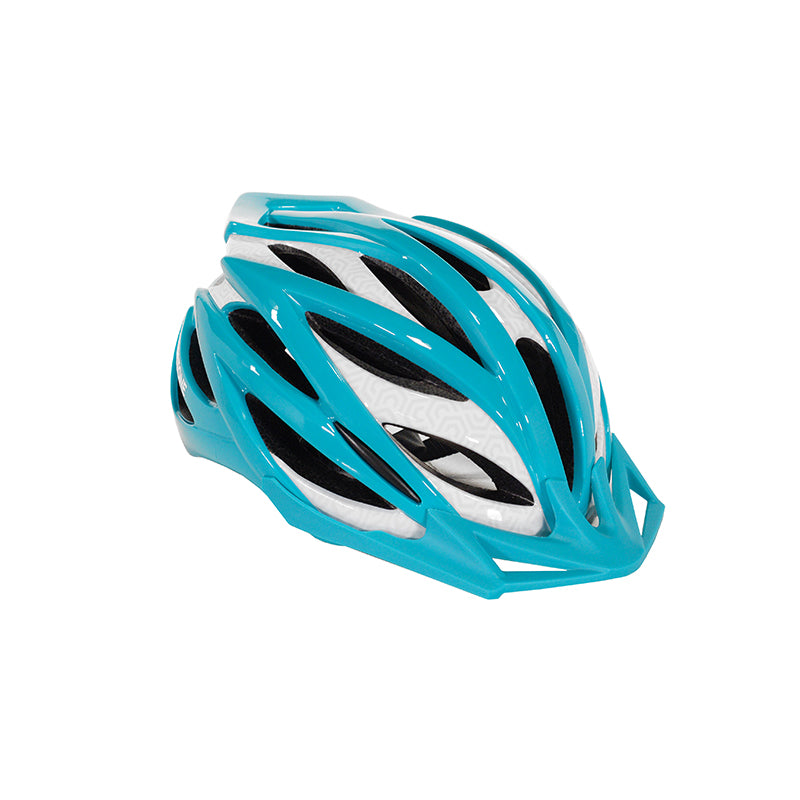 Adult Ladies Teal & Gray Helmet