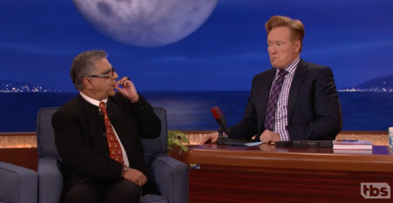 Deepak Chopra on The Tonight Show with Conan O'Brien