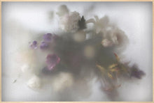 Load image into Gallery viewer, photo and mixed media in wooden frame flowers by casper faassen