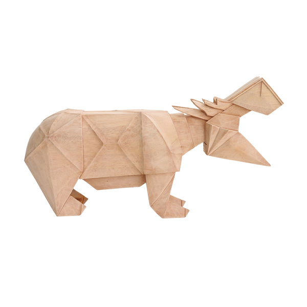 ART GIFT | Wooden Hippo