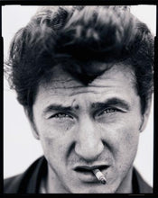 Load image into Gallery viewer, Sean Penn in black and white by mark Seliger