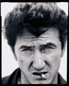 Sean Penn in black and white by mark Seliger