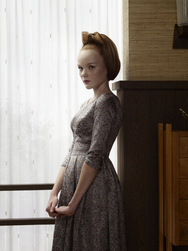 grief series by erwin olaf portrait of victoria woman with dress