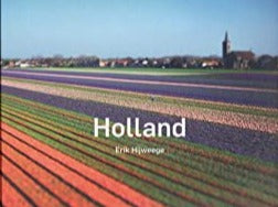 Photo book with hardcover and pictures of typical Dutch landscapes