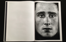 Load image into Gallery viewer, page from photobook here are the young men by claire felicie