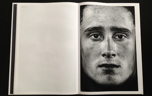 page from photobook here are the young men by claire felicie