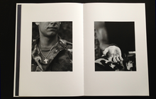 Load image into Gallery viewer, black and white photos from  photobook here are the young men by claire felicie