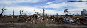 picture of tornado damage in kansas