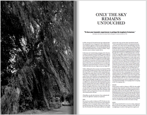 only the sky remains untouched  book by claire felicie about PTSS