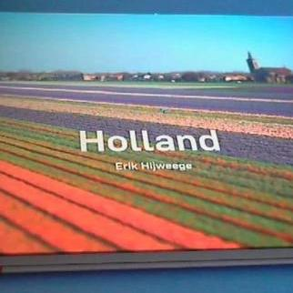 photo book HOLLAND with tullip fileds by Erik Hijweege