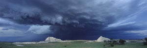 supercell photo in badlands national park south dakota