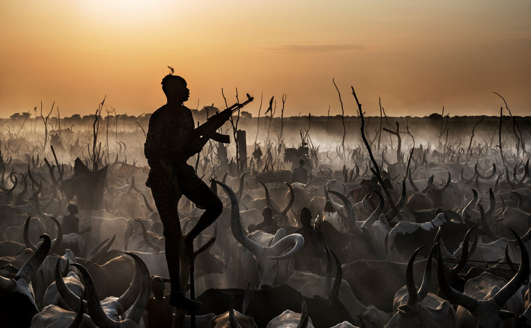 the color of money color photo by david yarrow from the Dinka's archive