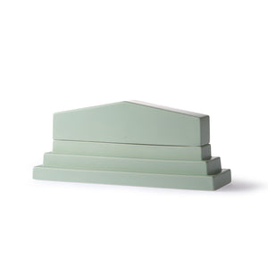 HKliving usa and romina gris green ceramic roman pantheon box