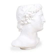 Load image into Gallery viewer, replica of Apollo sculpture made from white plaster