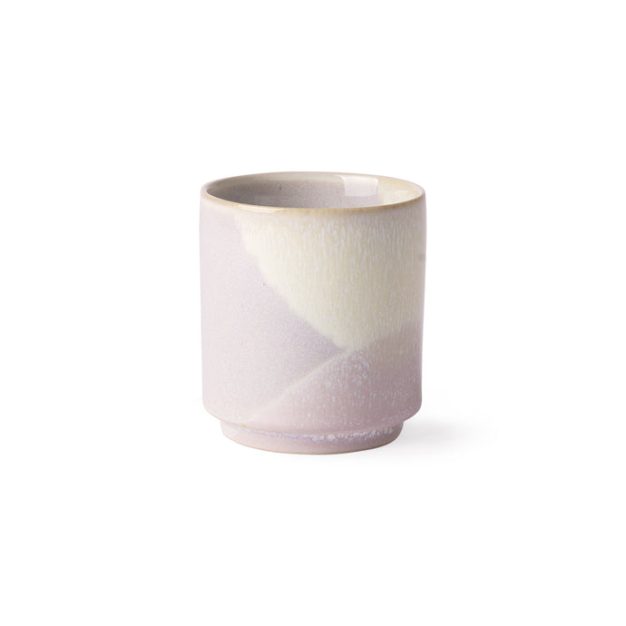 ceramic mug in pastel colors